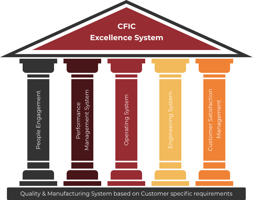CFIC Excellence System Pillars